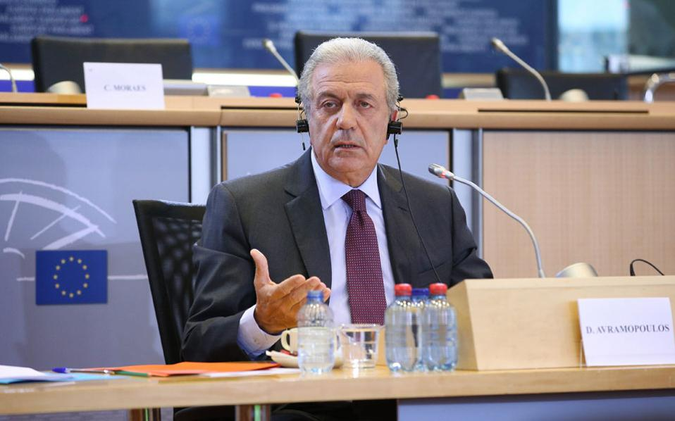 European Parliament approved the nomination of Avramopoulos for Commissioner