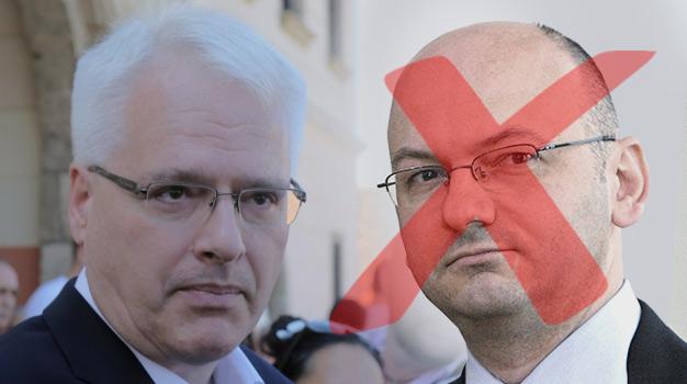 Josipovic sacked his chief advisor and analyst