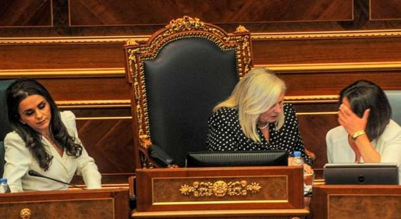 Constitutive session at the parliament of Kosovo postponed