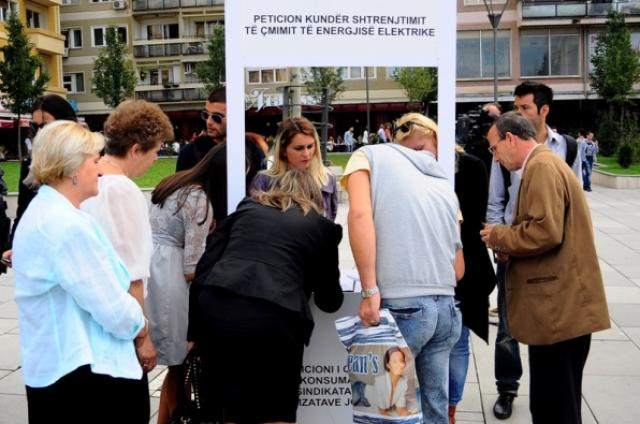 Over 30 thousand signatures against the increase of the price of electricity