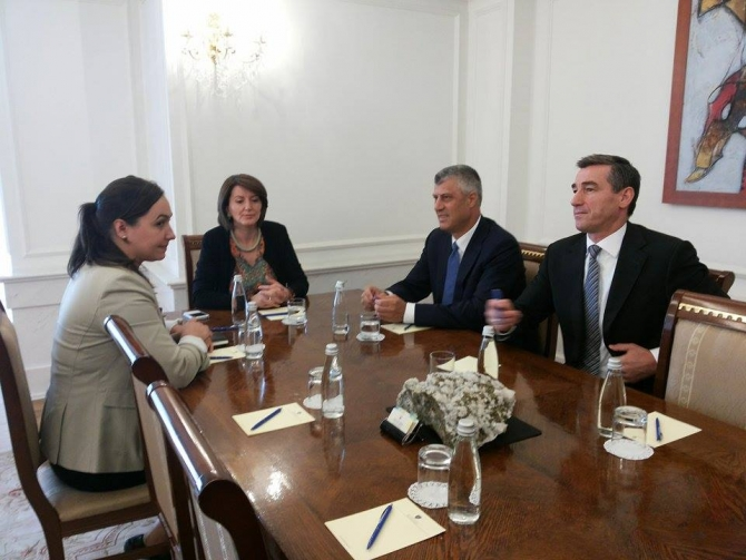 Political crisis, meetings with president Jahjaga without any results