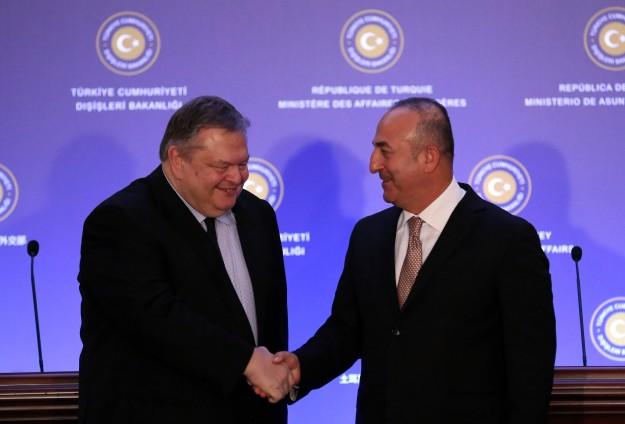 Venizelos –Çavuşoğlu agreed that they disagree on the issue of mining in the Cyprus EEZ