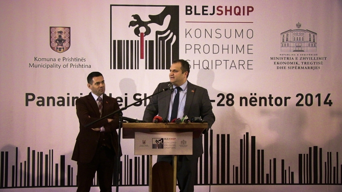 """""""Buy Albanian"""" is an economic and not an emotional concept, says mayor of Pristina"""
