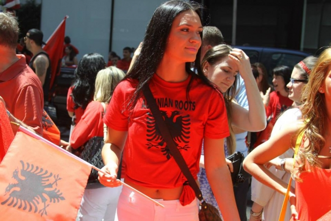 Kosovo celebrates the 102nd anniversary of the independence of Albania