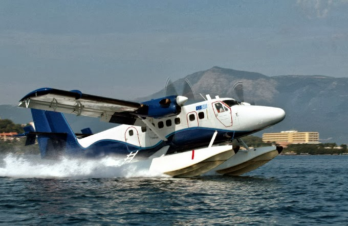 The first water airport in Greece is a reality