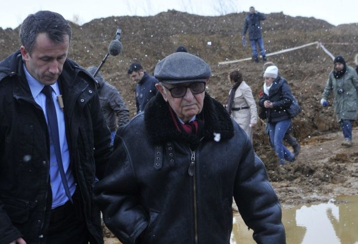 Theodor Meron visited places of war crimes