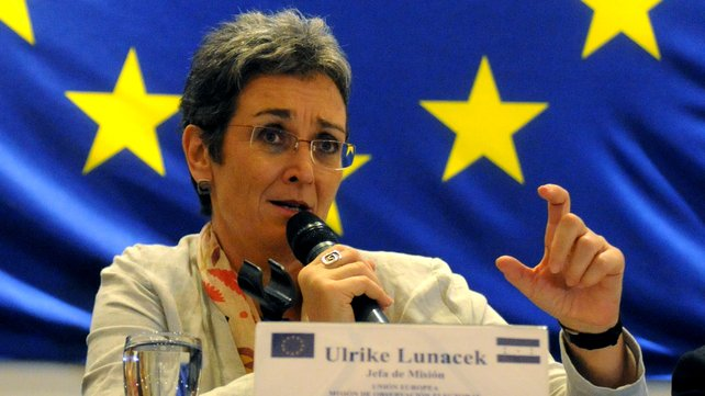 Lunacek demands the recognition of the state of Kosovo