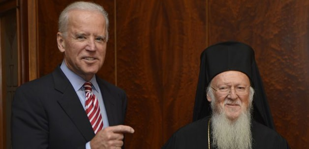 Biden visits the  Ecumenical Patriarchate