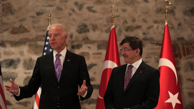 Conclusions from the Biden-Davutoglu meeting