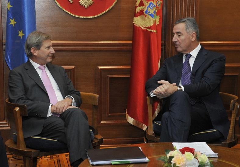 Hahn: Montenegro is one of the pillars of stability in the region