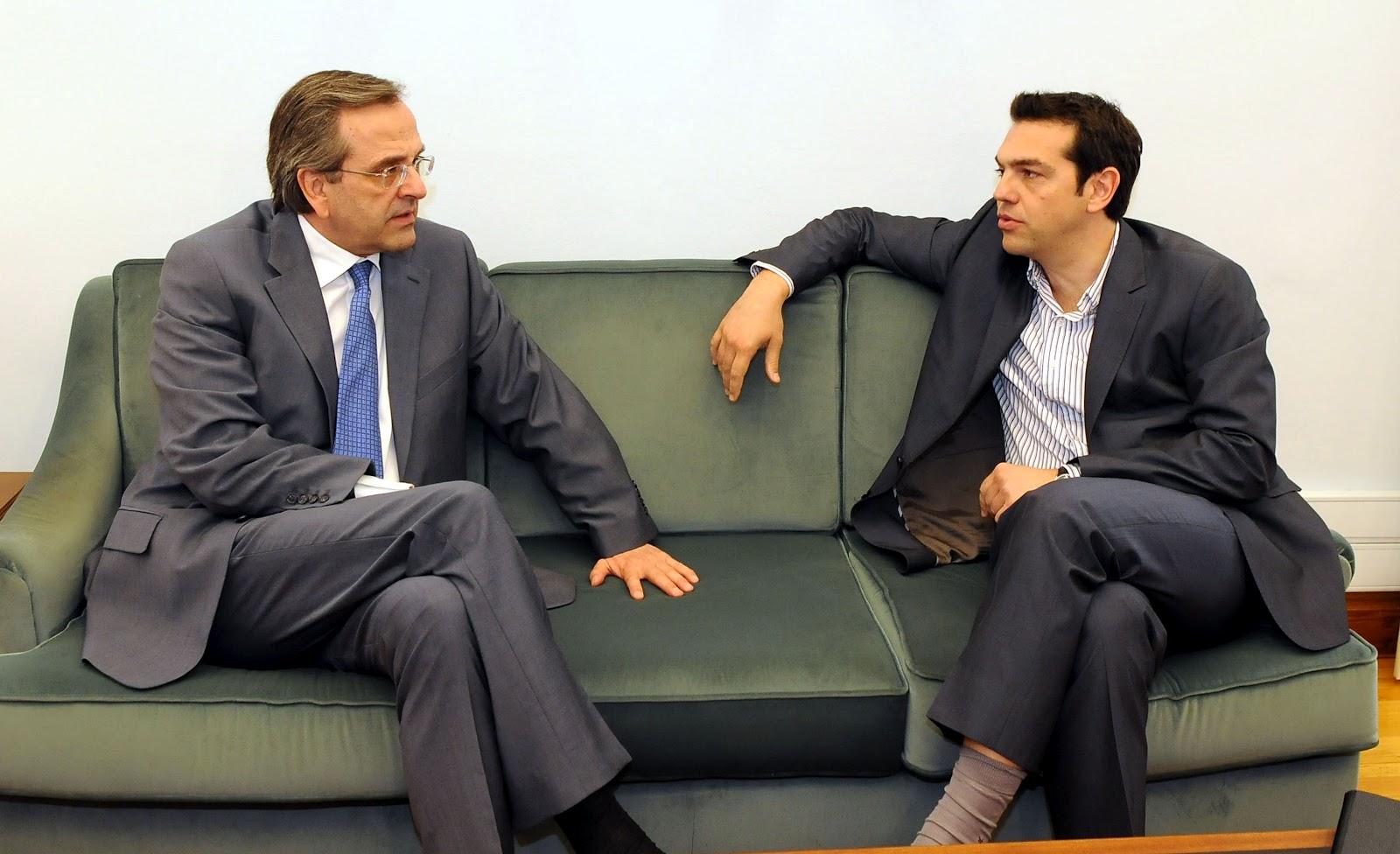 Thoughts for a Samaras-Venizelos-Tsipras meeting