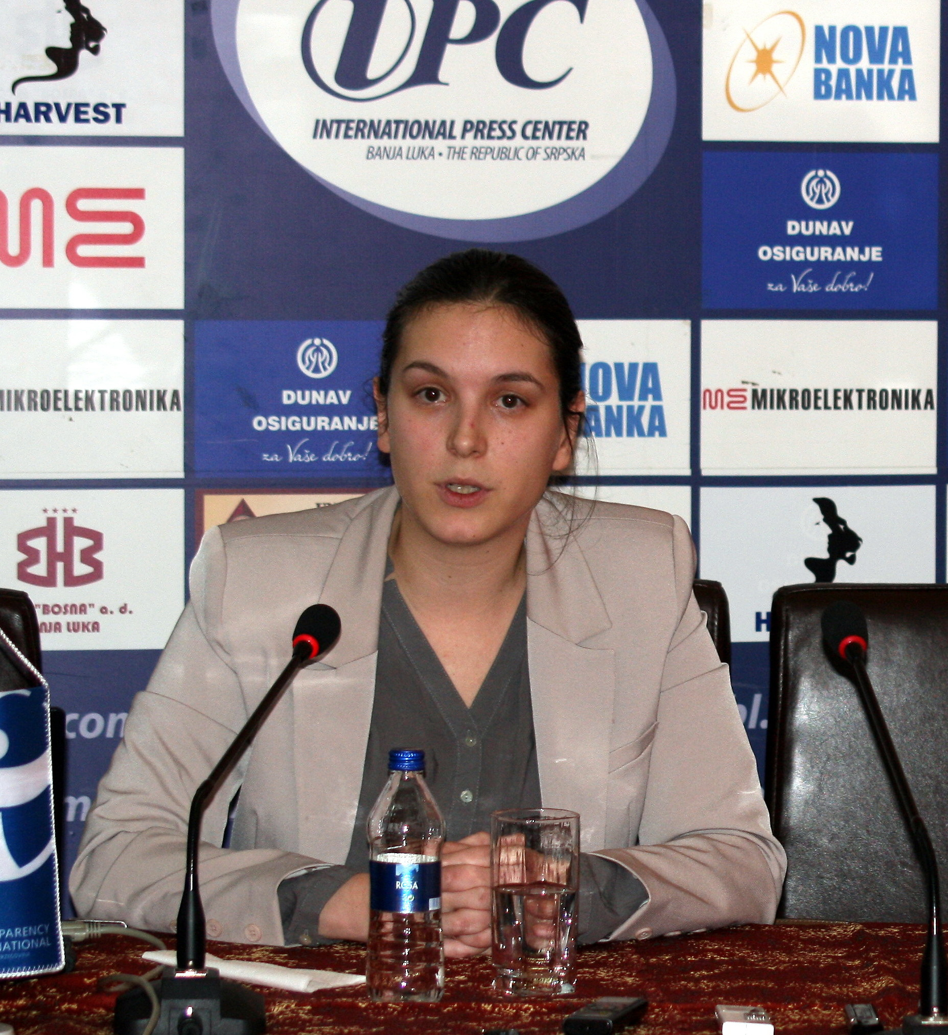 IBNA/Interview with Ivana Korajlic, Transparency Interntional BiH project manager