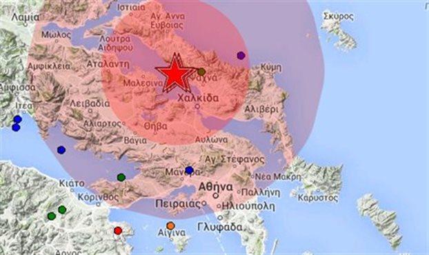 Greece: Earthquake in Chalkida mobilise State mechanism