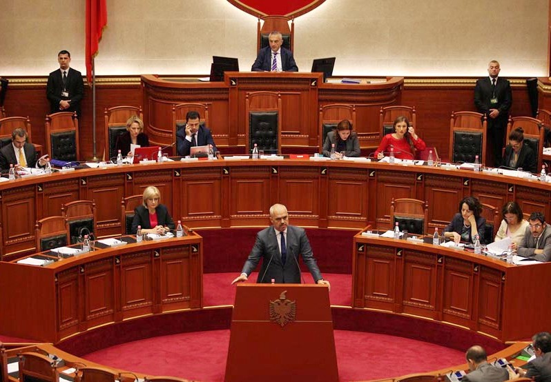 2015 tax package voted in principle by parliament in Albania