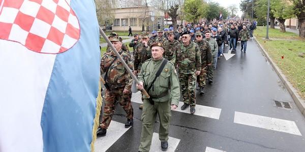 One big, dignified column in Vukovar