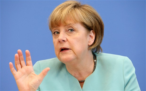 Merkel alarms on Russian influence in Serbia