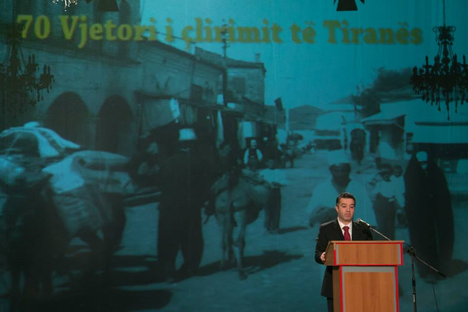Tirana celebrates the 70th anniversary of liberation