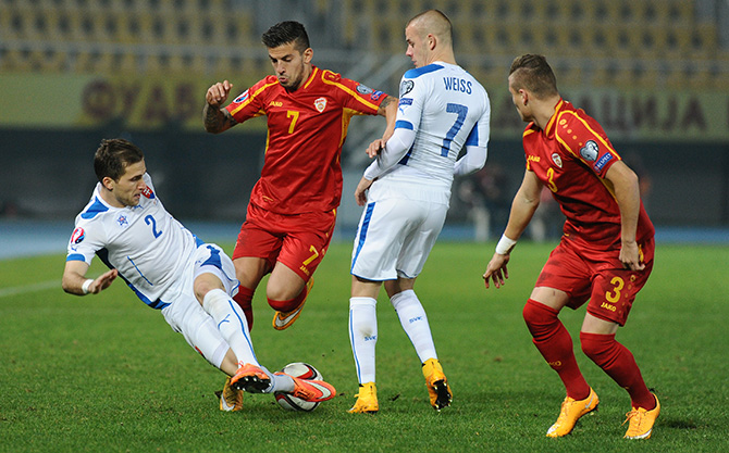 All hopes are lost for FYROM's qualification in the Euro 2016