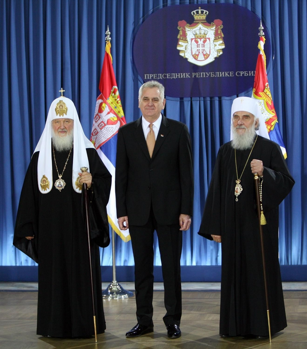 Patriarch Kirill: Russia and Serbia linked by blood, history and religion