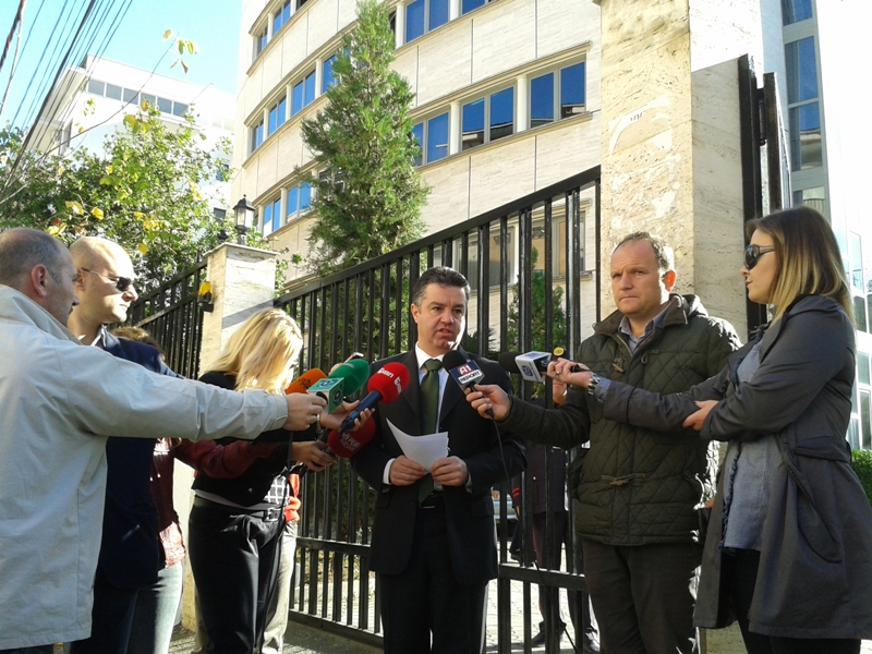 Municipality of Tirana files a criminal lawsuit against the minister of Finance for abuse with office