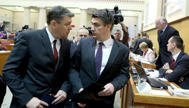 Croatian government sends draft budget to Parliament