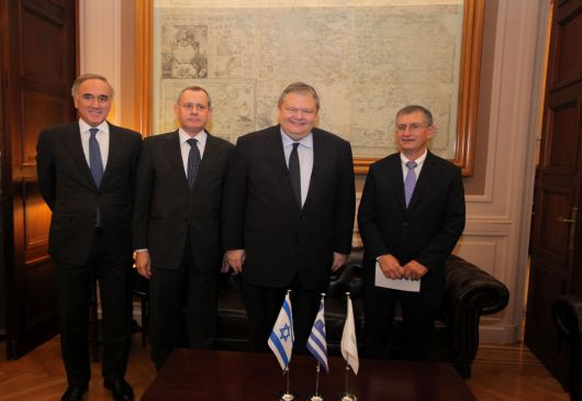 The trilateral Cyprus-Greece-Israel meeting was decided