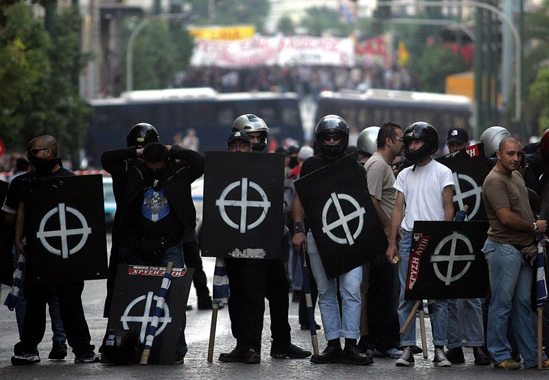 State prosecution says Golden Dawn's action can be traced back to 1996