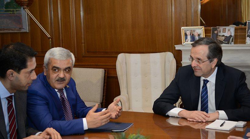 Secret meeting between Samaras and the president of SOCAR