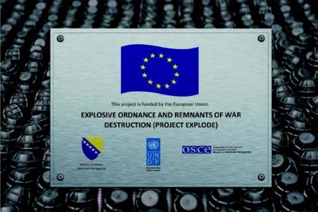EU helps demining of food affected areas in BiH