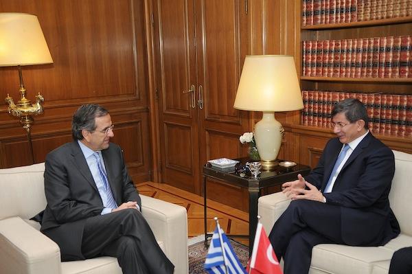 Samaras-Davutoglu meeting in December in Athens