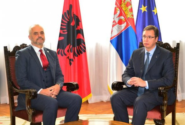 Albanian PM provocation in Belgrade