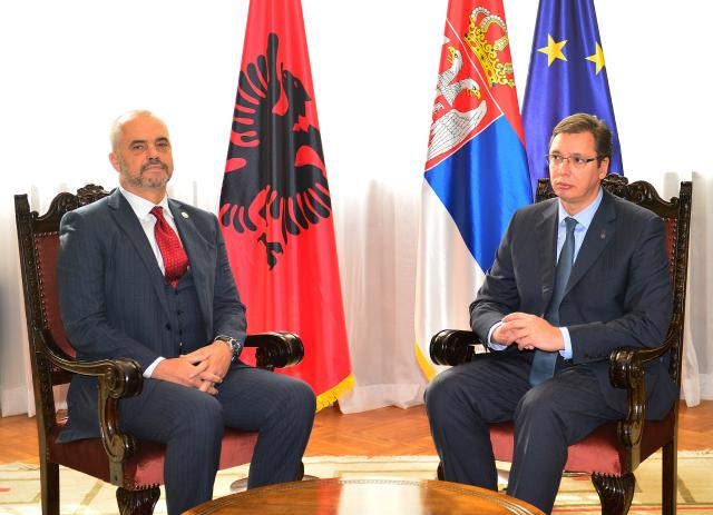 Vucic: Kosovo remains Serbia, Rama: Sorry, but independence is incontestable