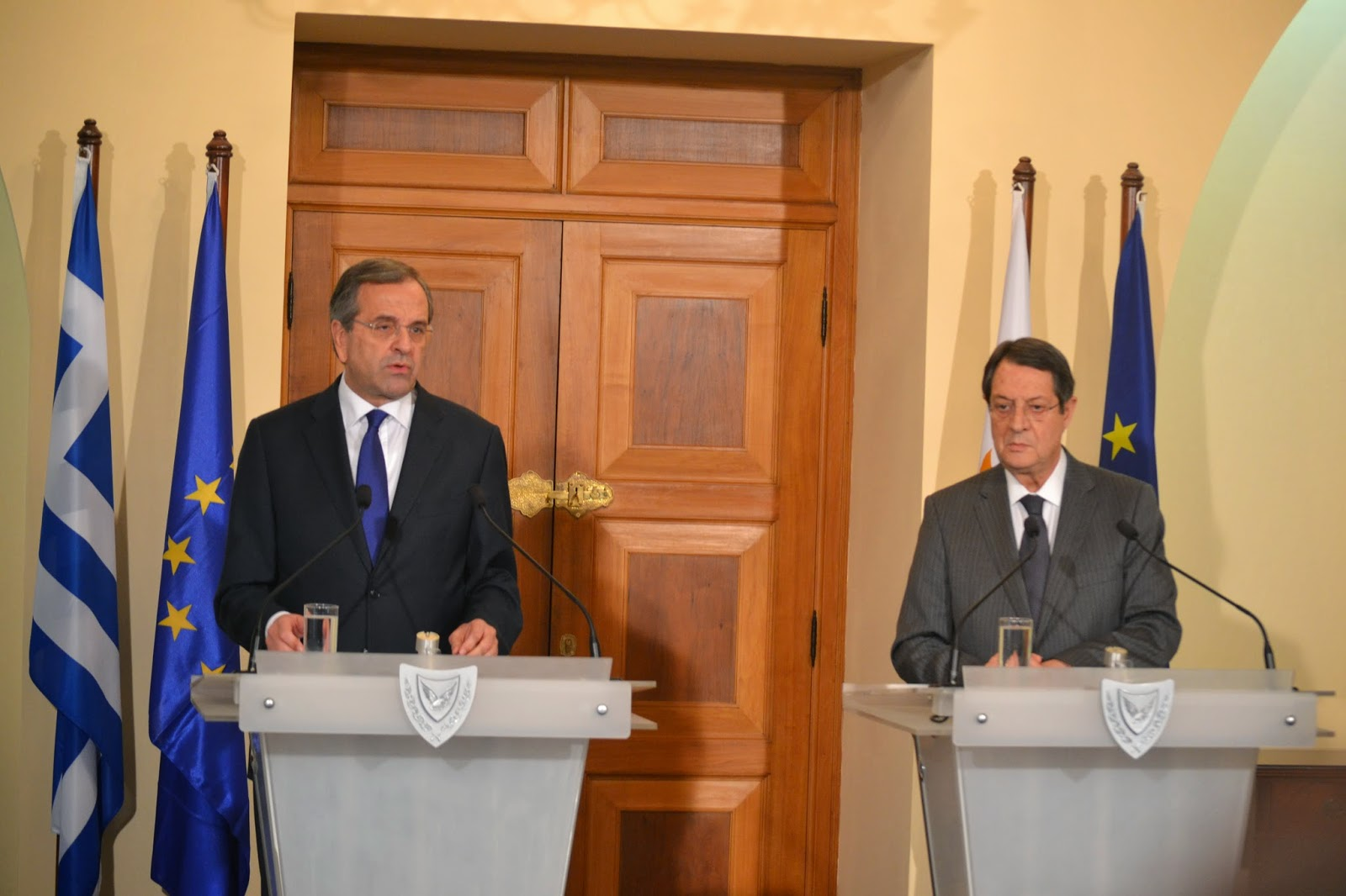 Samaras: Cyprus is key for the stability in Europe