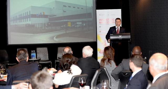 Gruevski continues his visit in the USA to attract American investors