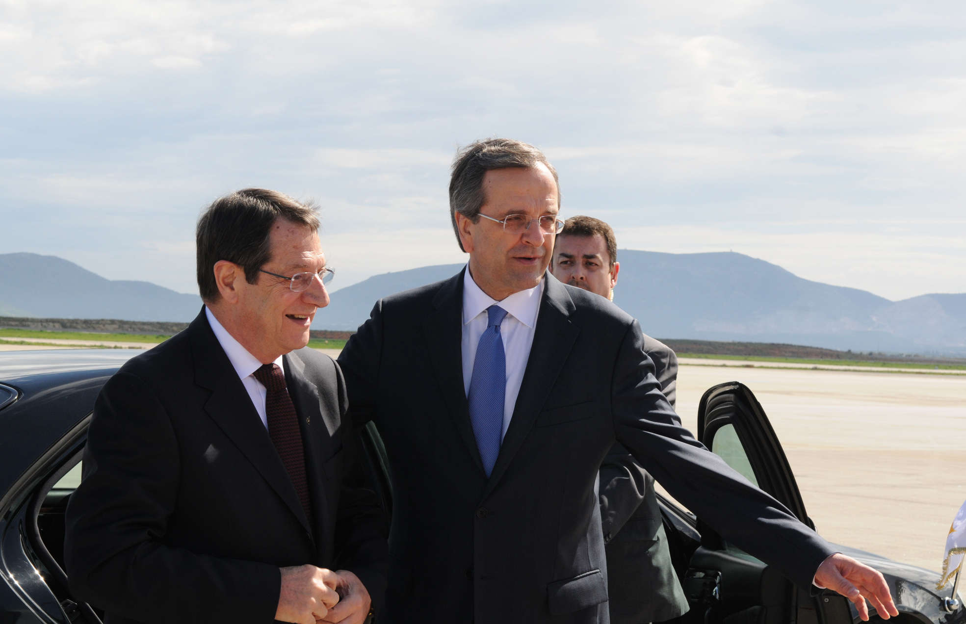 Anastasiades: The visit of Samaras to Cyprus is extremely important