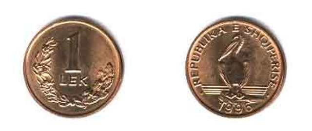 Bank of Albania introduces the 1 Lek and 10 Lek coins