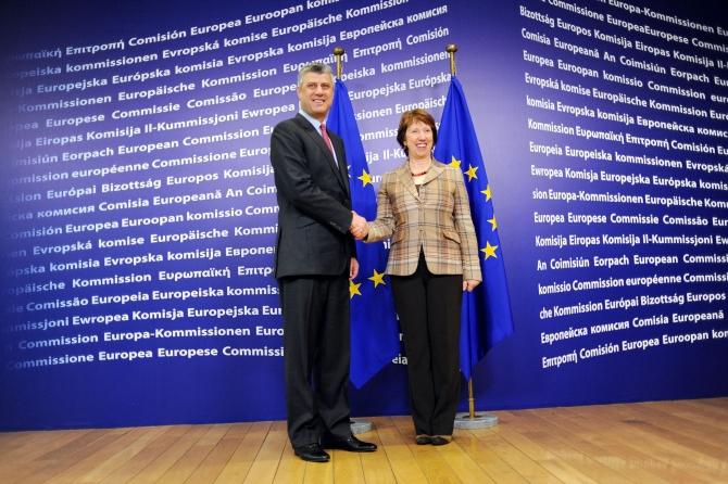 Ashton: Thaci is an inspiration for state leaders in the region