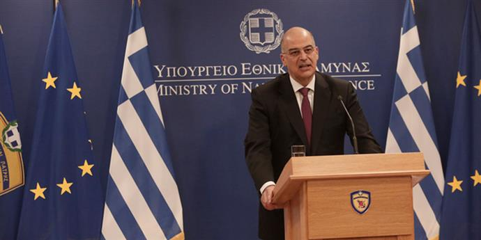 With a message to Turkeytook office the new Defence Minister of Greece