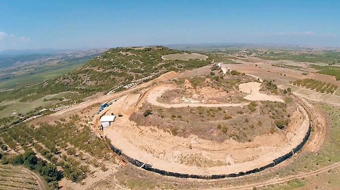The tomb of Amphipolis under 'X-rays'