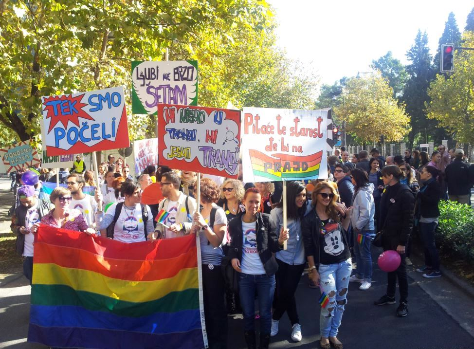 Montenegrin LGBT gay pride parade went without incidents