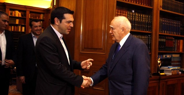 Alexis Tsipras to have exploratory meeting with Karolos Papoulias
