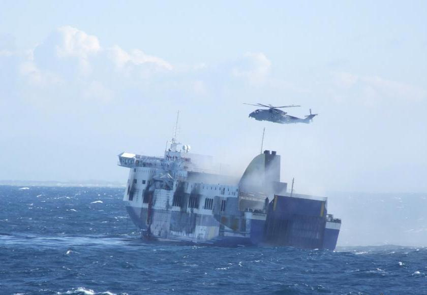 """Two Albanian sailors who participated in the """"Norman Atlantic"""" rescue operation seriously wounded"""