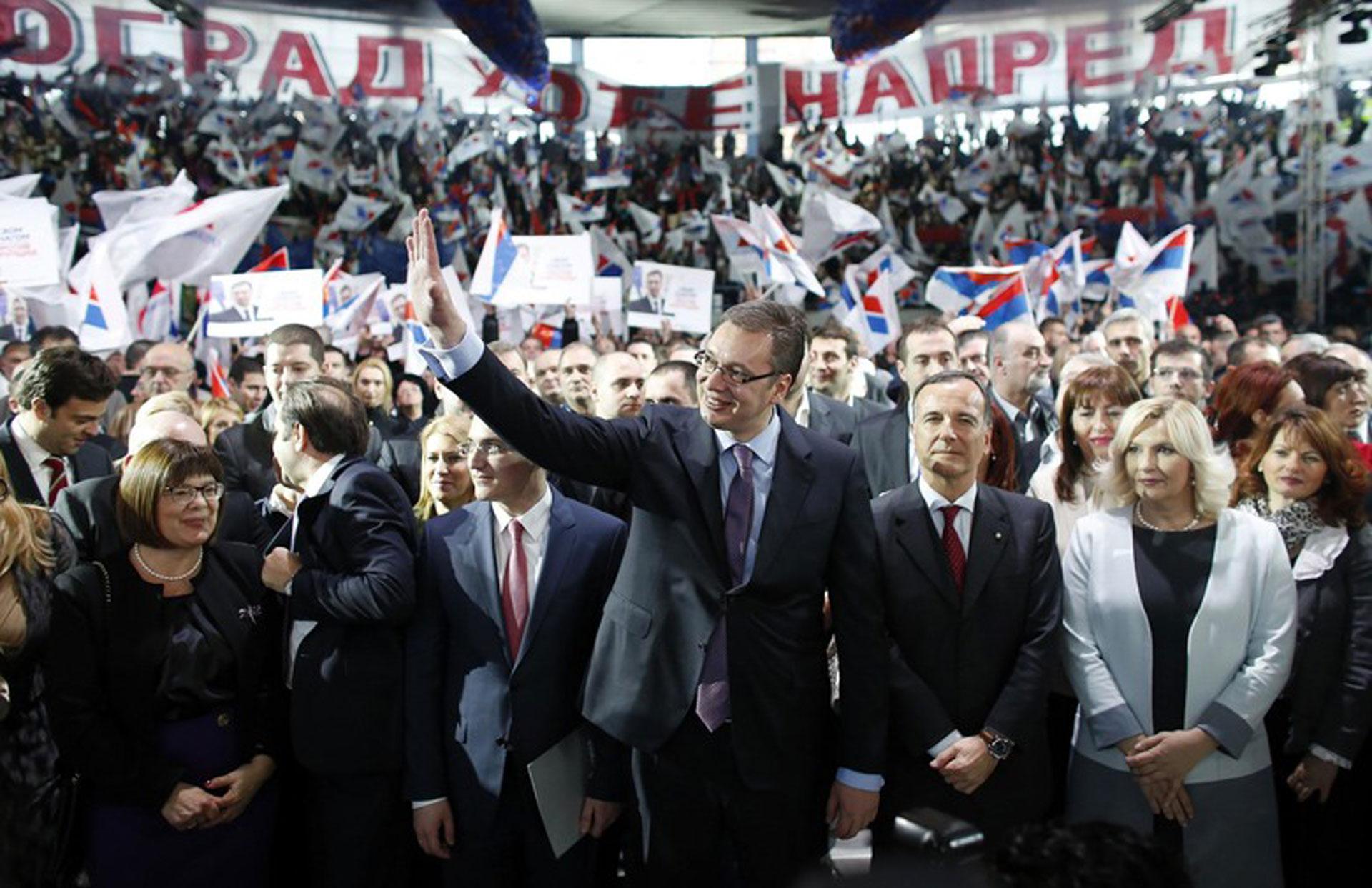 Serbian Progressives win local elections