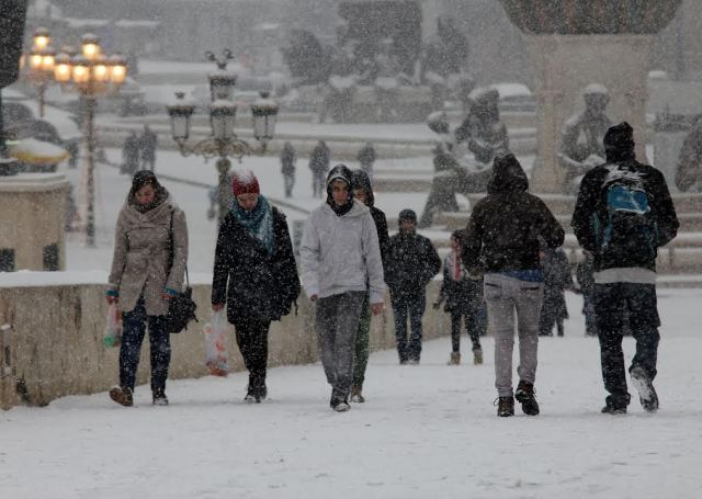 Bad weather paralyzes FYROM