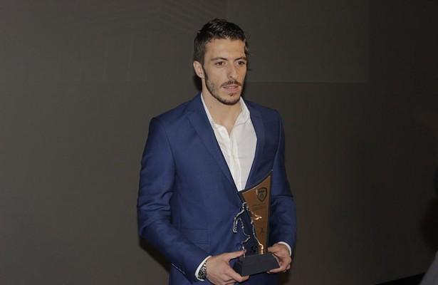 Agim Ibrahimi announced the football player of the year in FYROM