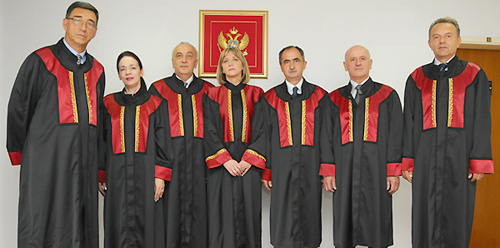 Constitutional Court of Montenegro applied practice of the Court of Human Rights in Strasbourg