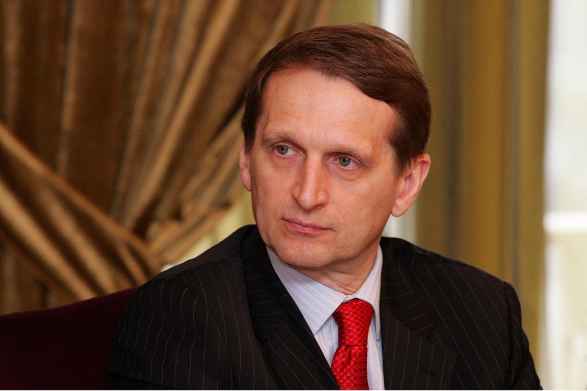 Russia grateful to Serbia, Naryshkin says
