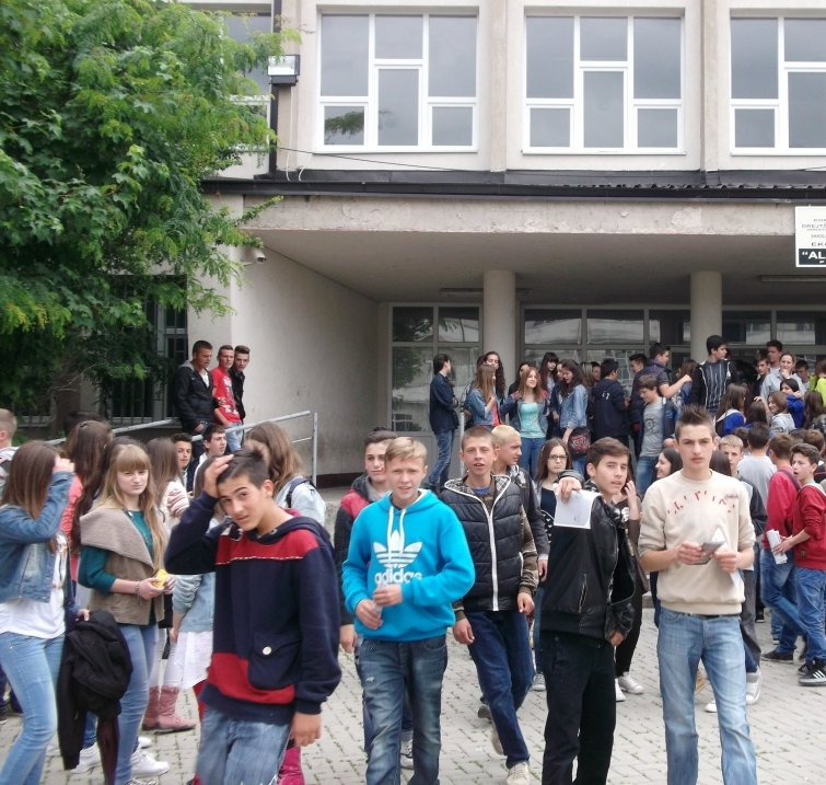 Conflictions are a serious problem for Albanian schools