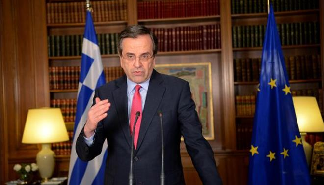 Samaras Offers Early General Elections