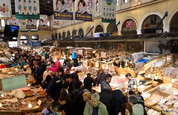 Mysterious women in Varvakeio Market struck again